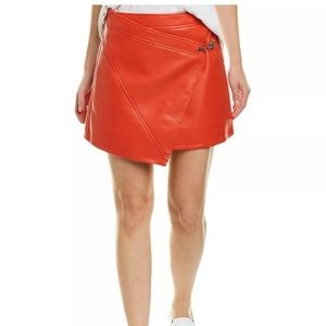 Nwt BLANKNYX wrap Mini LEATHER Skirt